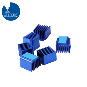 Blue Anodizing 3D Printing Heat Sink