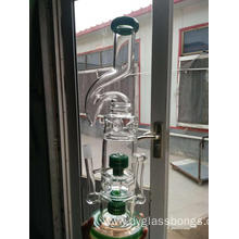 16 Inch Unique Glass Hookahs with Showerhead Filters