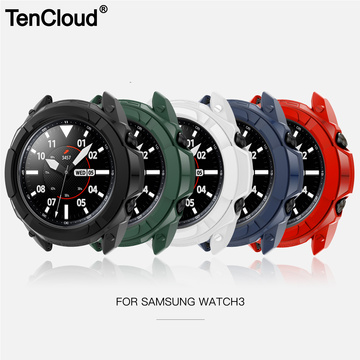Protective Case For Samsung Galaxy Watch 3 41mm 45mm Smart Watch Cover Bezel Ring Frame Shell Protector Smart Accessories Ring