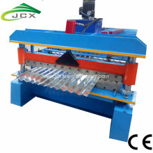 Corrugated sheet rolling machine