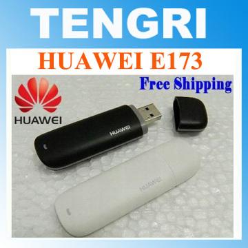 10pcs/lot Original unlocked Huawei E173 7.2M Hsdpa USB 3G Modem dongle stick mobile broadband