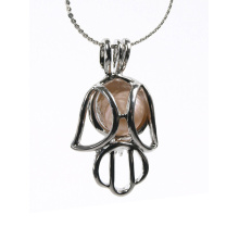 6-7mm Freshwater Pearl Cage Pendant