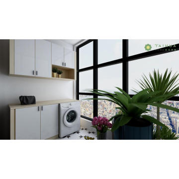 Customized Washing Machine Cabinet and Hanging Cabinet