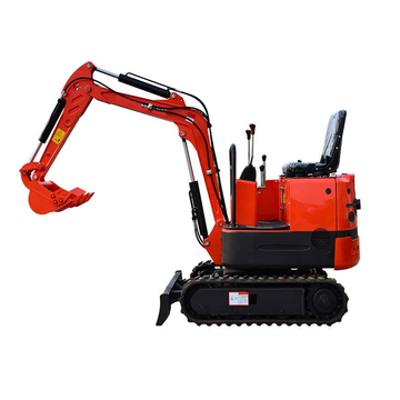 360 degree swing farm machinery excavator mini