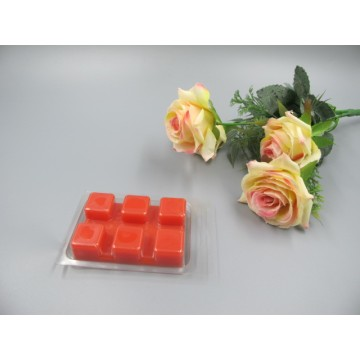 Scented Red Colored  Wax Block