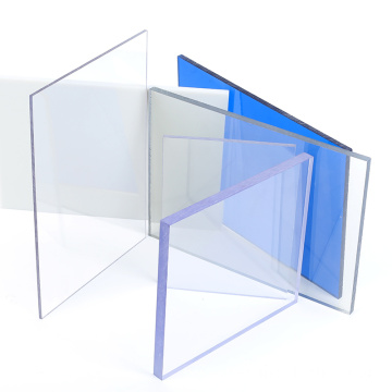 Hot sales 4mm solid polycarbonate sheet plastic sheet