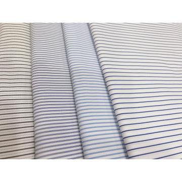 100D*50S/C T/C Yarn-dyed Dobby Stripe Fabric
