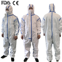 ICU Disposable Overalls Suit Protective Isolation Clothing