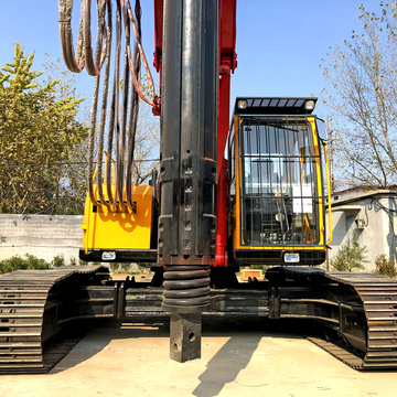 Multi function Hydraulic Ground Screw Pile Drilling Machine