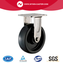 Plate PP Fixed Stainless Steel Caster