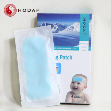 brand fever reducing cooling gel patch for kids