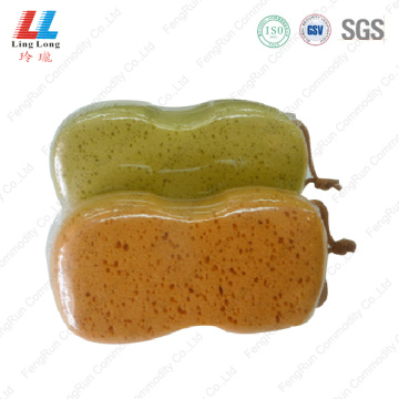 Fizzy grouting brown cleaning sponge