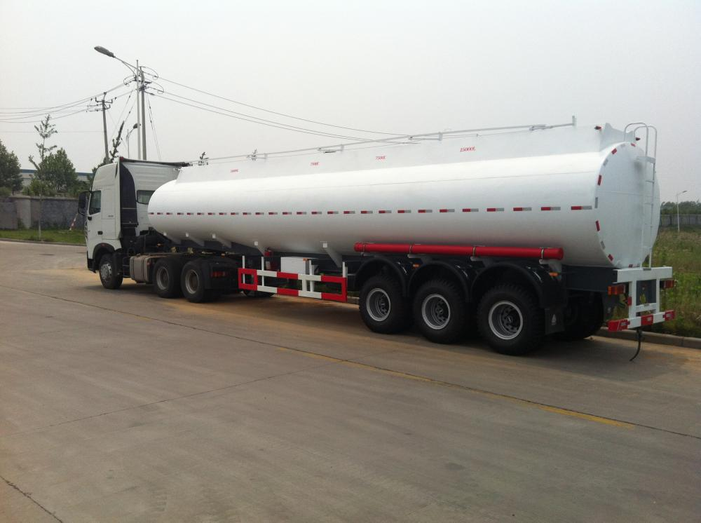 42000 Liters Capacity Fuel Tank Semi Trailer