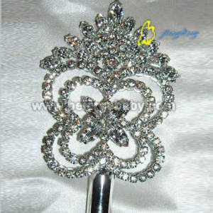Silver crystal scepters SC-14