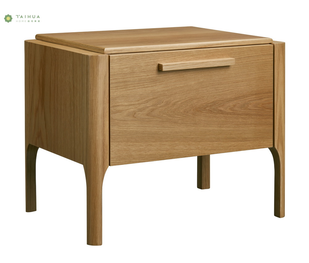 Light Walnut Night Stand