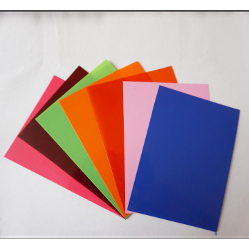 High quality of colorful PS sheets films