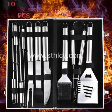 Stainless Steel Multi Long Handle BBQ Tools