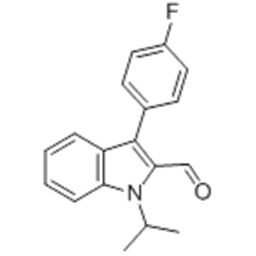 3-(4-FLUORO-PHENYL)-1-ISOPROPYL-1H-INDOLE-2-CARBALDEHYDE CAS 101125-34-2
