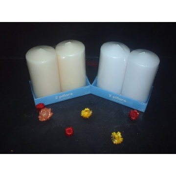 Umbrella Top 7 inches High Scented Pillar Candle