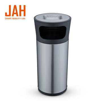 JAH 430 Stainless Steel Wastepaper Basket for Hotel