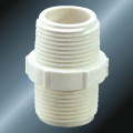 BS4346 Water Supply Upvc Male Thread Nipple White