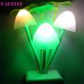 2020 Romantic Colorful Sensor Led Mushroom Night Light Wall Lamp Home Decor