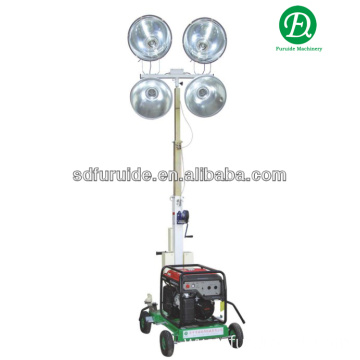 400W*4 Gasoline Generator Trailer type Mobile Light Tower (FZM-400B)