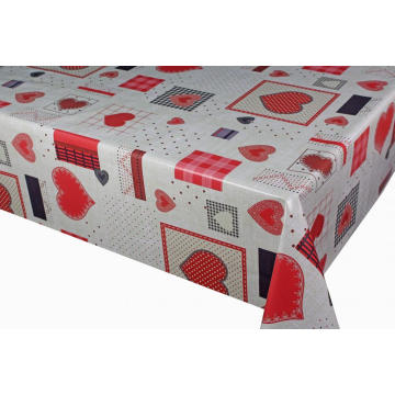 Elegant Tablecloth with Non woven backing Homebase