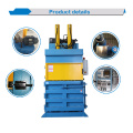 Vertical Hydraulic Waste Paper Baler Machine
