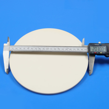 ISO Pressed High Purity Round Alumina Ceramic Plate