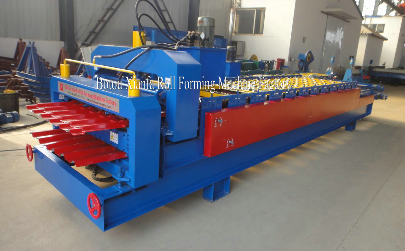 IBR and Glazed roll forming machine