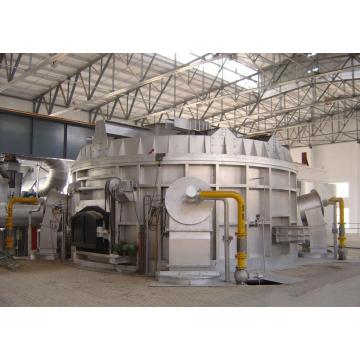 Aluminium scrap remelting furnace