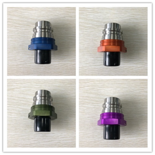 ISO16028 Quick Coupling FF5A Male Blue