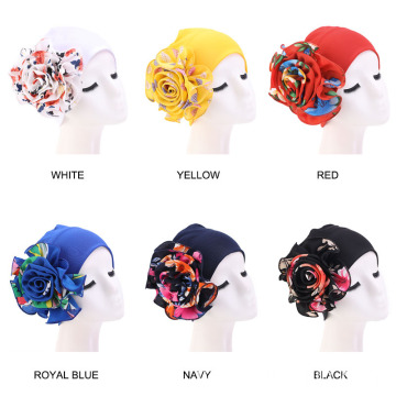 Adjustable hair headwrap bandanas turban hat for women