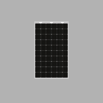 320w double glass transparent solar panel frameless