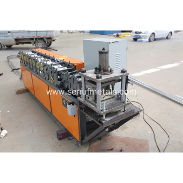 Galvanized roofing sheet roller shutter door slat forming machine