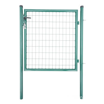 Metal Fence Gate Round