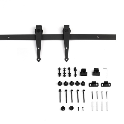 Mini Arrow sliding barn door hardware kits