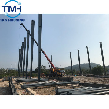 cheap prefabricated industrial steel structure warehouse