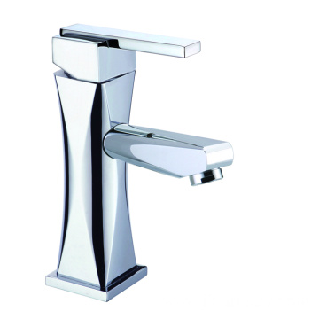 Brass vanity bathroom faucet set short