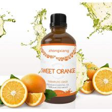 Organic Top Grade Natural sweet orange essential oil