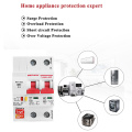 220V Smart Life 2P WiFi Smart Circuit Breaker overload short circuit protection with Amazon Alexa for Smart Home