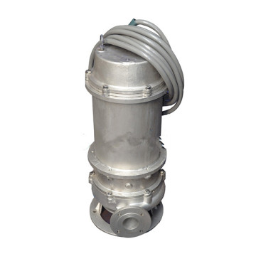 WQP stainless steel submersible sewage pump
