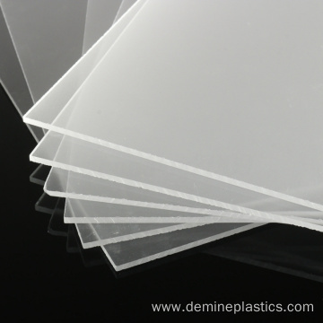 Standard size translucent frosted solid polycarbonate sheet