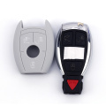 3 Buttons Key Cover For Benz