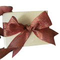 Hot Stamping Empty Bowknot Gift Paper Box