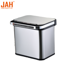 JAH Stainless Steel Recycling Sortable Garbage Trash Bin