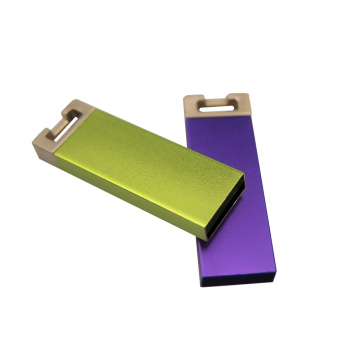Пользовательский логотип USB Flash Drive Metal Mini USB