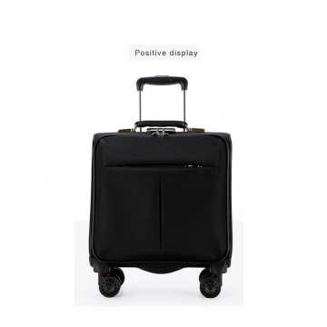 Oxford Nylon Cabin Expandable Soft Luggage Trolley Bag