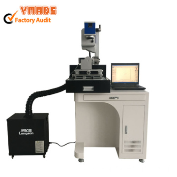 desktop RF tube co2 marking machine with filter